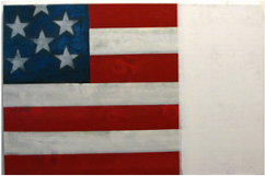 Rick Arnitz painting img of American Flag
